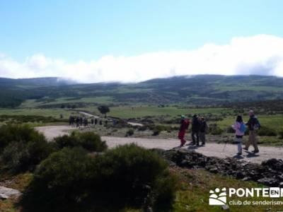 Ruta de Senderismo - Altos del Hontanar; senderista; rutas en bici madrid